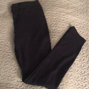 Navy Calvin Klein Stretch Jegging Pants